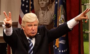 Trump: The News Media, SNL and Bigly Ratings