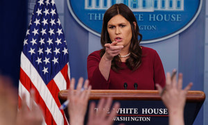 Why Sarah Sanders Lied to the Media